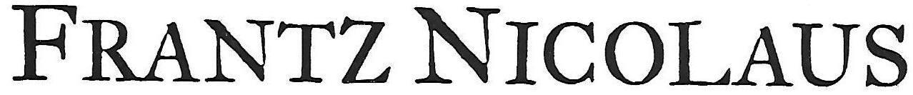 Frantz Nicolaus Logo
